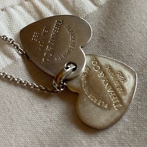 Tiffany & Co Double Heart Tag